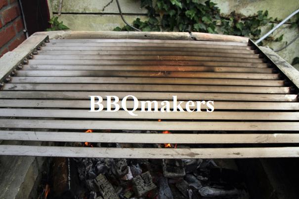 RVS Argentijns barbecue rooster op maat 2